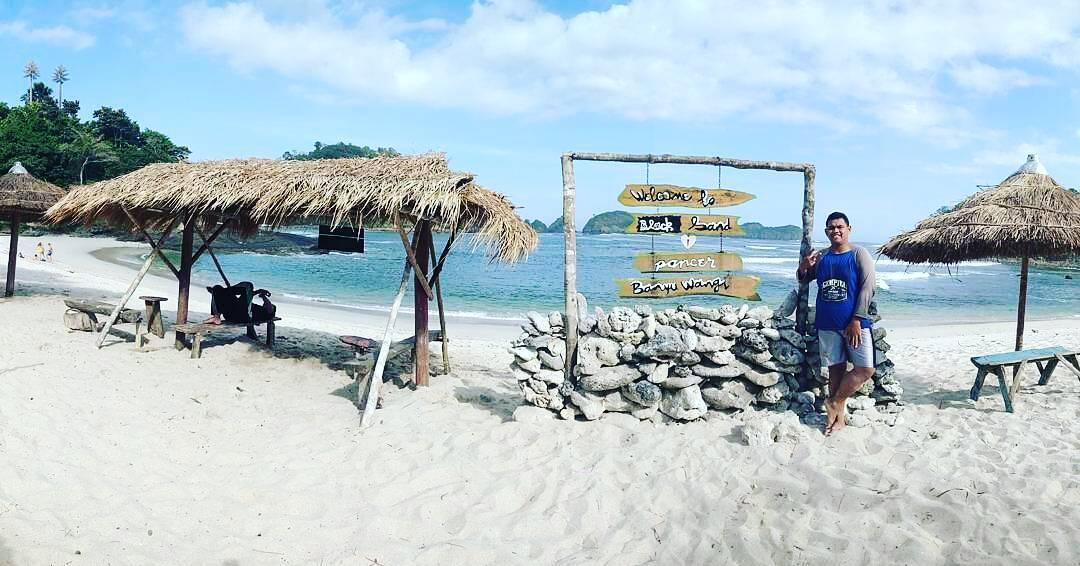 paket wisata banyuwangi 2h1m, pantai wedi ireng